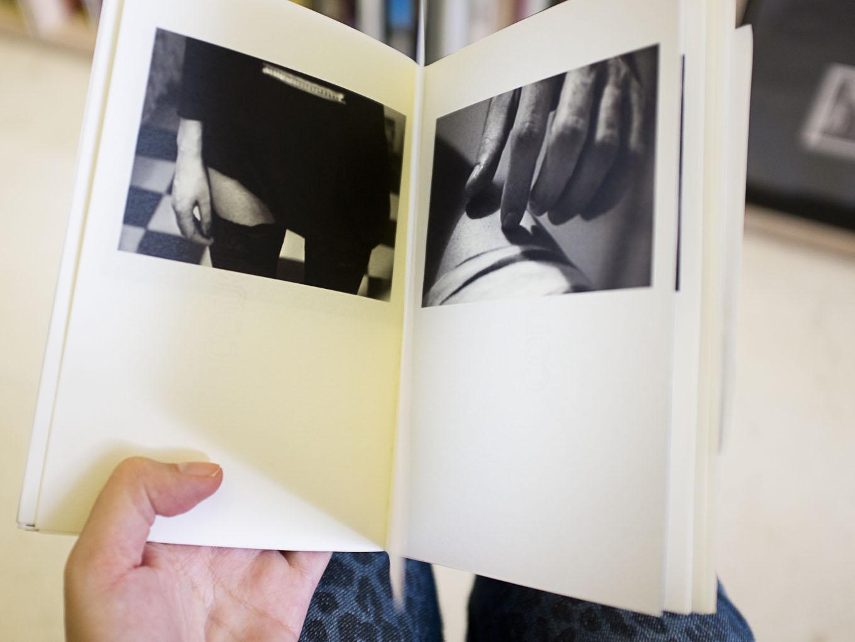 """Maqueta de  raro amor  presentada en la convocatoria """"Cosecha 2013"""" del Photobook Club Madrid."""