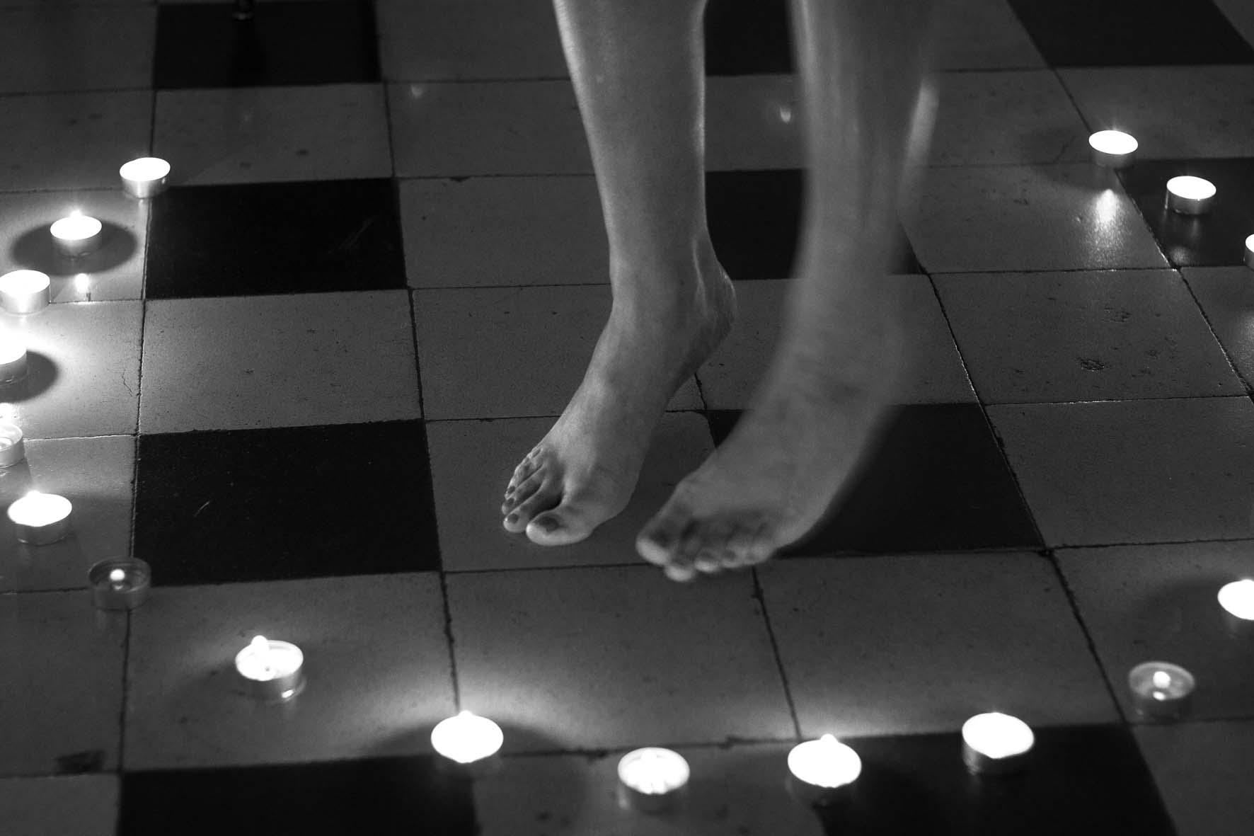 Fotografía perteneciente a la serie  raro amor  de Ana Zaragoza.