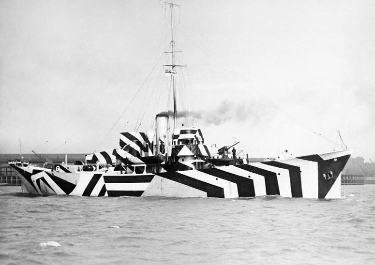 HMS Kildangen, 1918.