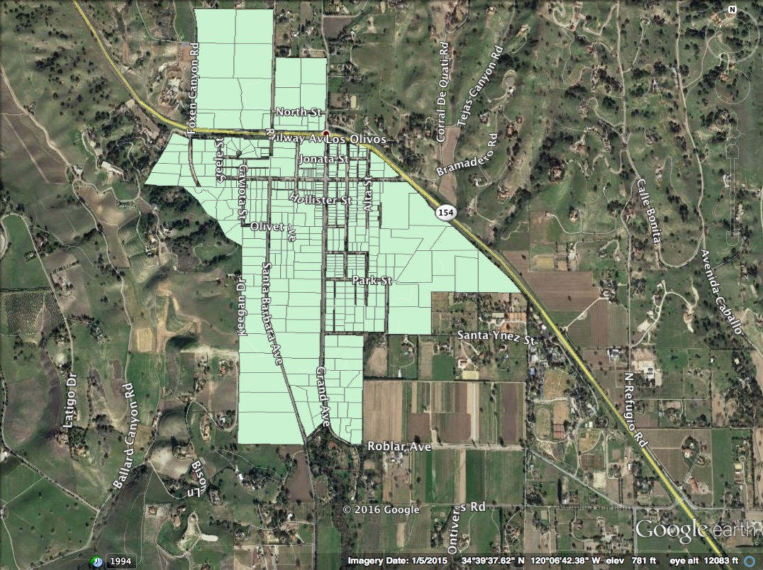 Source: Los Olivos Wastewater System Preliminary Engineering Report