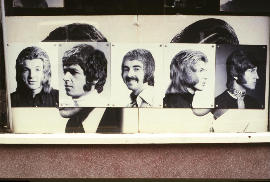 Soho Barbershop, London 1971