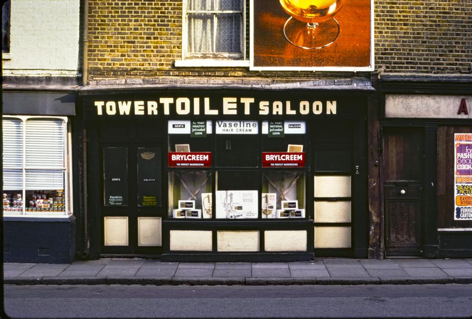 Greenwich Toilet Saloon, London 1971