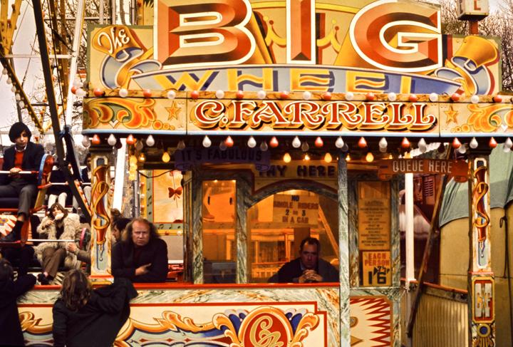 Hampstead Heath Fair Big Wheel, London 1971
