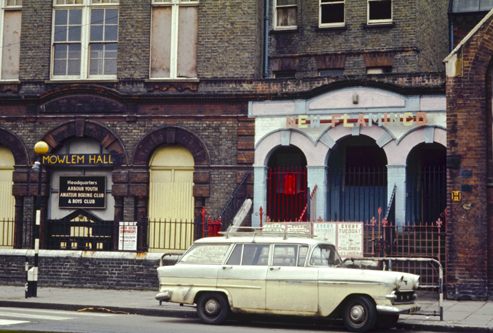 Mowlem Hall & New Flamingo, London 1971