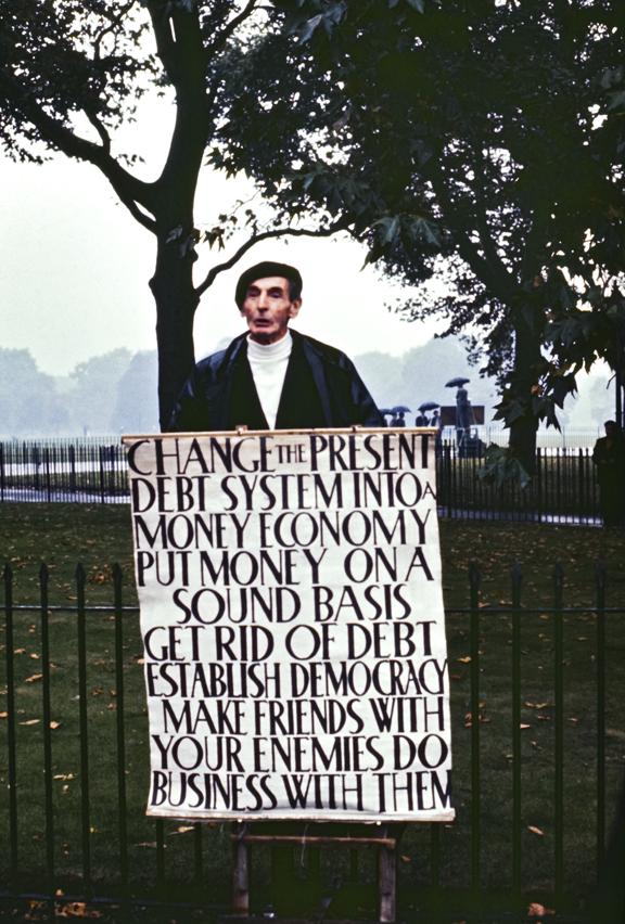 Change The Present Hyde Park Corner, London 1971