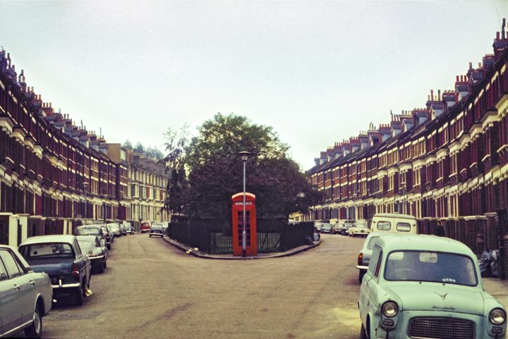 Belsize Park, London 1971
