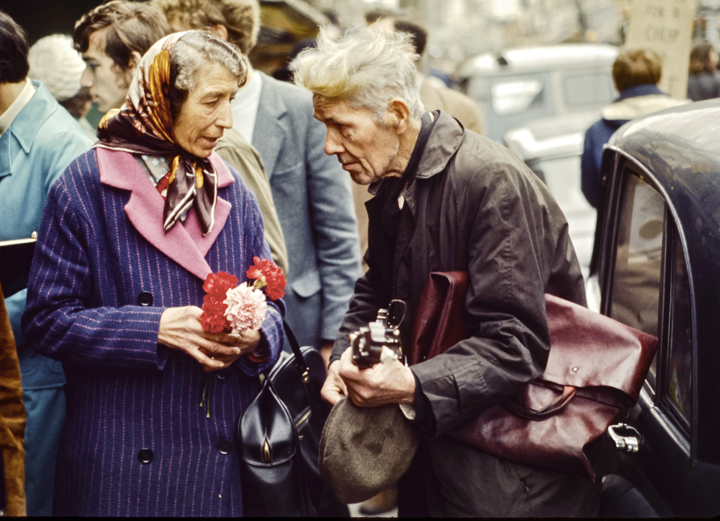 Flower Lady & Banjo Man Portobello Road, London 1971