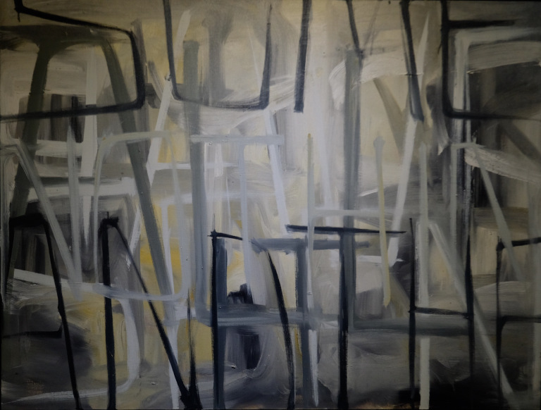 Things Come Around 36 X 48″ 2014 oil on linen 2014 $1800