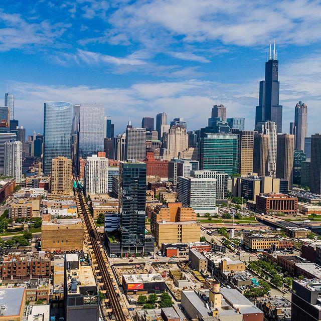 @Chicago #droneshot