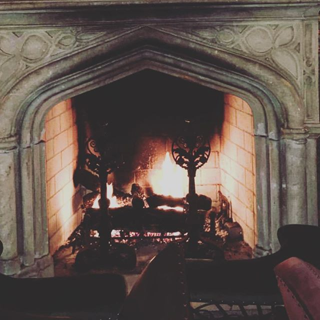 Bourbon. Fire.