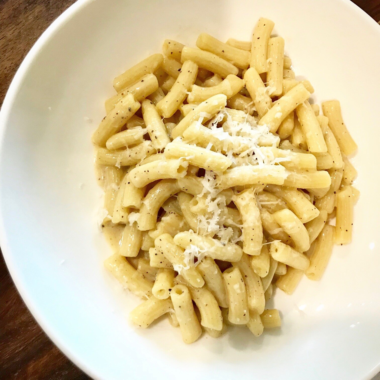 cacio e pepe (cheese & pepper)