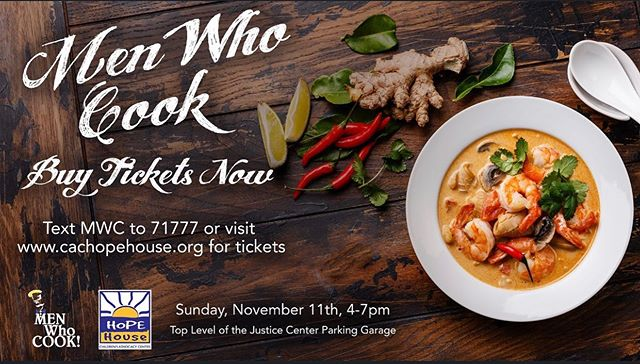 Have you bought your tickets🎟 for Men Who Cook?! @chefgavinjobe and his team are participating this year and he's come up with a dish he's sure will win!🏆 NOVEMBER 3, 2019 Time: 4:00 PM to 7:00 PM Price: Advance: $75/single and $125/couple; At Door: $80/single, $150/couple (all inclusive) St. Tammany Parish Justice Center Parking Garage (Rooftop) 701 N. Columbia St., Covington, LA 70433 (985) 373-5271