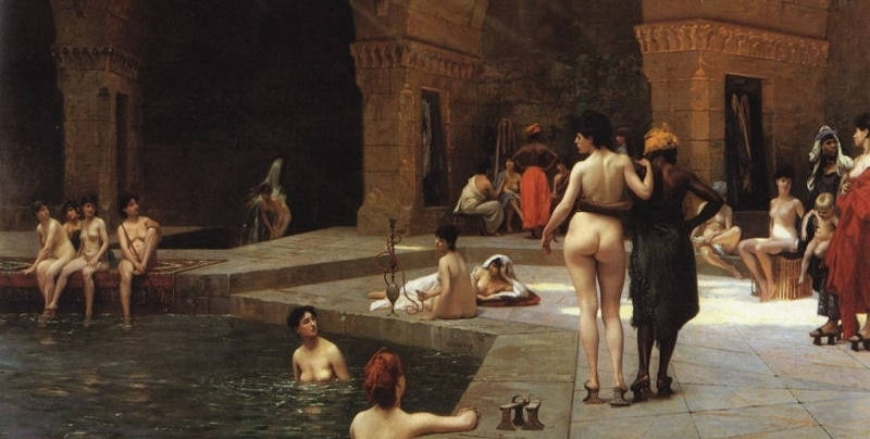 La grande piscine à Brusa , de Jean-Léon Gérôme
