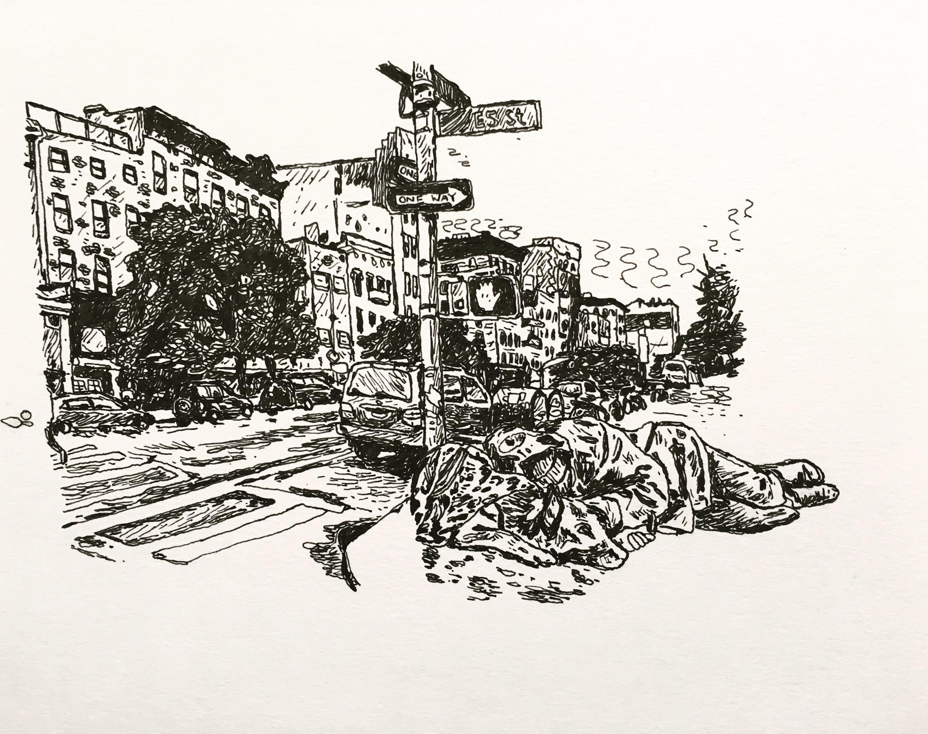 Tribeca, Homeless and Dog