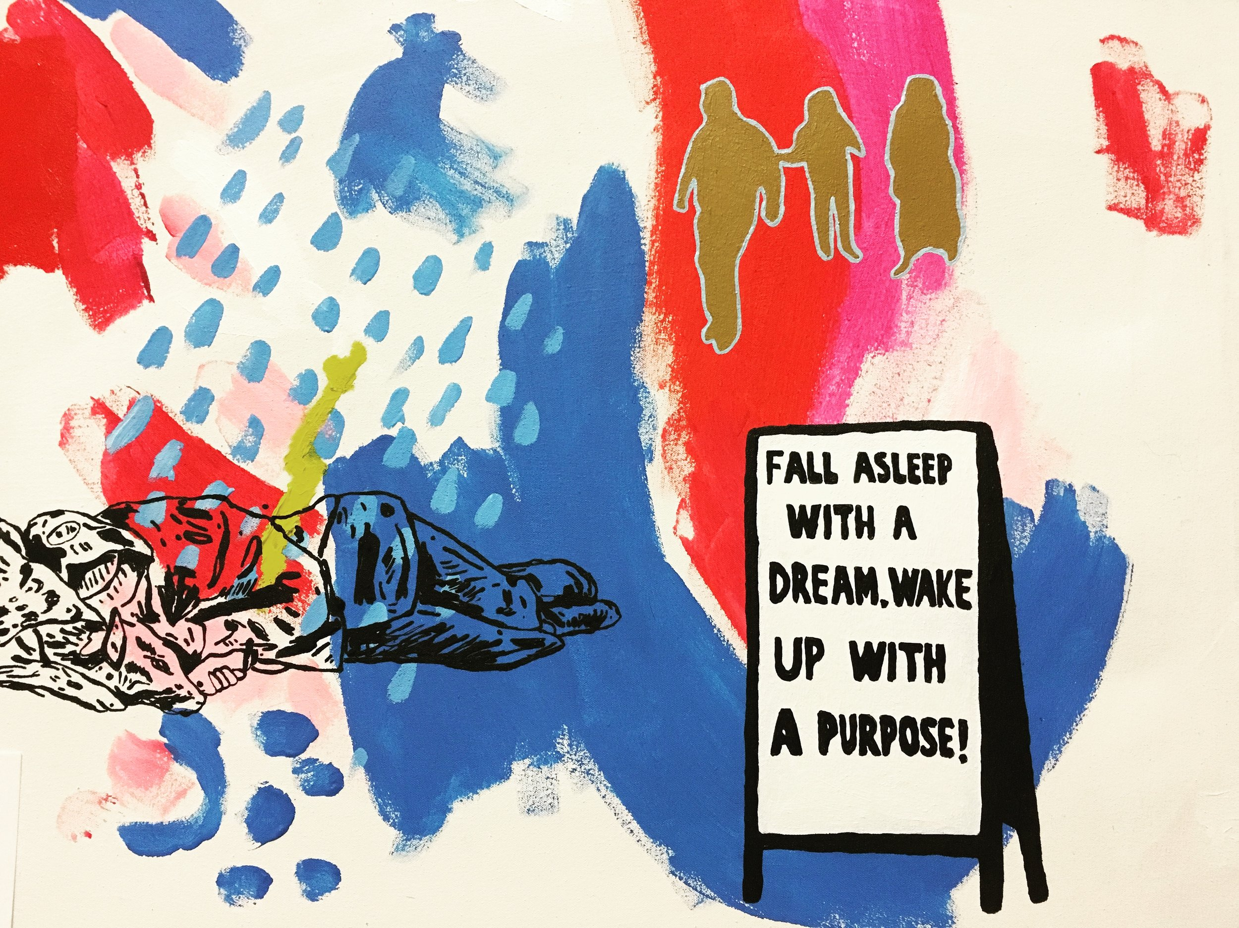 Fall Asleep With A Dream, Wake Up With a Purpose 2017