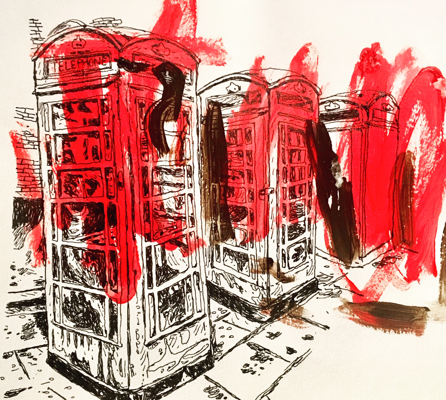 Phone Boxes. 2018