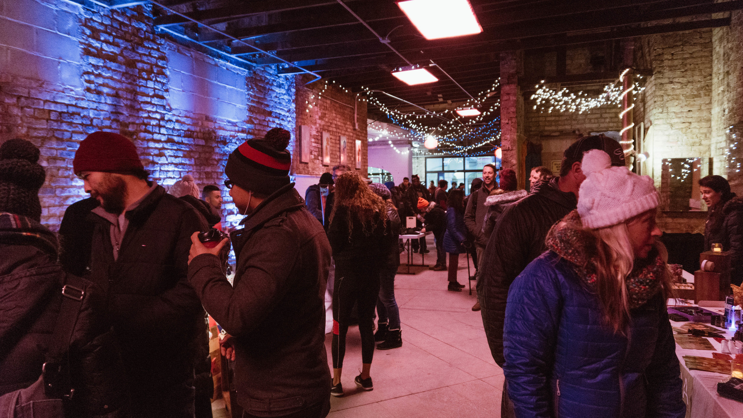 30 vendors, restaurants, artists, and organizations were represented at the market