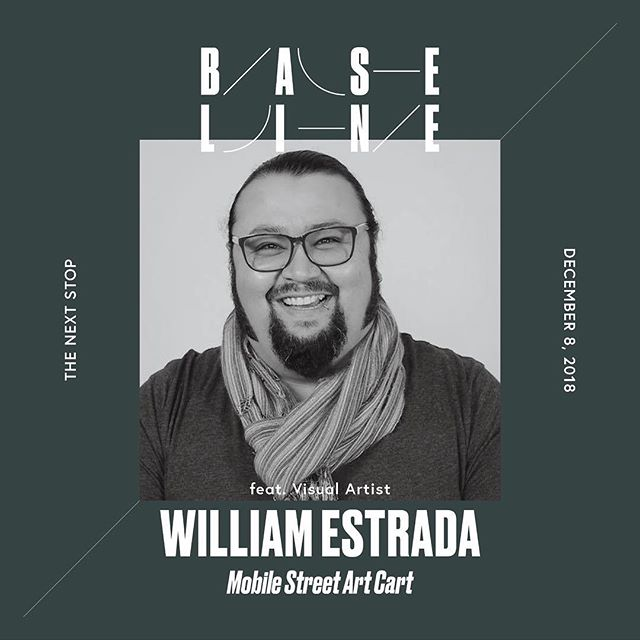 Featured Artist: William Estrada was born to immigrant parents and grew up assembling memories in California, Mexico, and Chicago. His teaching and art making practice focus on exploring inequity, migration, historical passivity, cultural recognition, self-preservation and media representation in marginalized communities. He documents and engages experiences in public spaces to transform, question, and make connections to established and organic systems through discussion, creation, and promotion of counter narratives. He has worked as an educator and artist with Telpochcalli Elementary, Chicago Arts Partnership in Education, Hyde Park Art Center, SkyArt, Marwen Foundation, Urban Gateways, DePaul University's College Connect Program, Graffiti Institute, Vermont College of Art and Design, Prison + Neighborhood Art Project and The School of The Art Institute of Chicago.  William's art and teaching is a collaborative discourse of existing images, text, and politics that appoints the audience to critically re-examine public and private spaces. As a teacher, artist, cultural worker, and urban anthropologist he reports, records, reveals, and amplifies experiences you find in academic books, school halls, teacher lounges, kitchen tables, barrios, college campuses, and in the conversations of close friends to engage in radical imagination.  William has presented in various panels regarding community programming, arts integration, and social justice curricula through the Illinois Art Education Association, the School of the Art Institute of Chicago, Illinois Humanities Council, Smart Museum of Art, the National Guild of Schools in the Arts, National Art Education Association, Teachers for Social Justice San Francisco, Iowa University, Grand View University and Illinois State University. In 2016 he was awarded the Teaching Artist Community Award from 3Arts Chicago.  His current research is focused on developing community based and culturally relevant programs that center powe