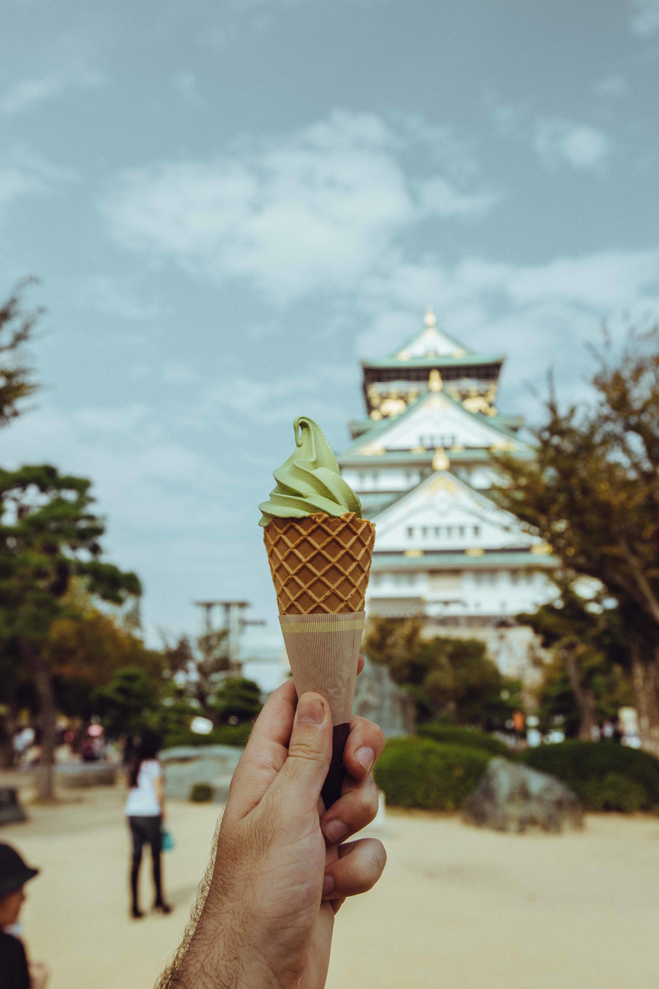Make sure to stop & get some Green Tea ice cream. So good!