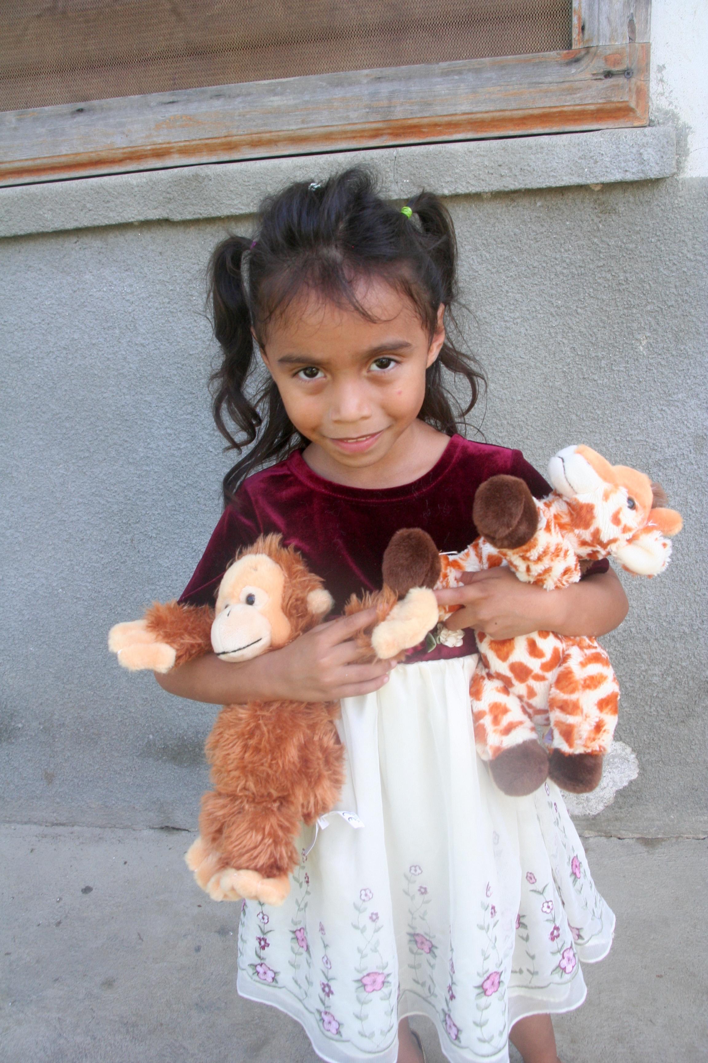 Josefina and her dolls