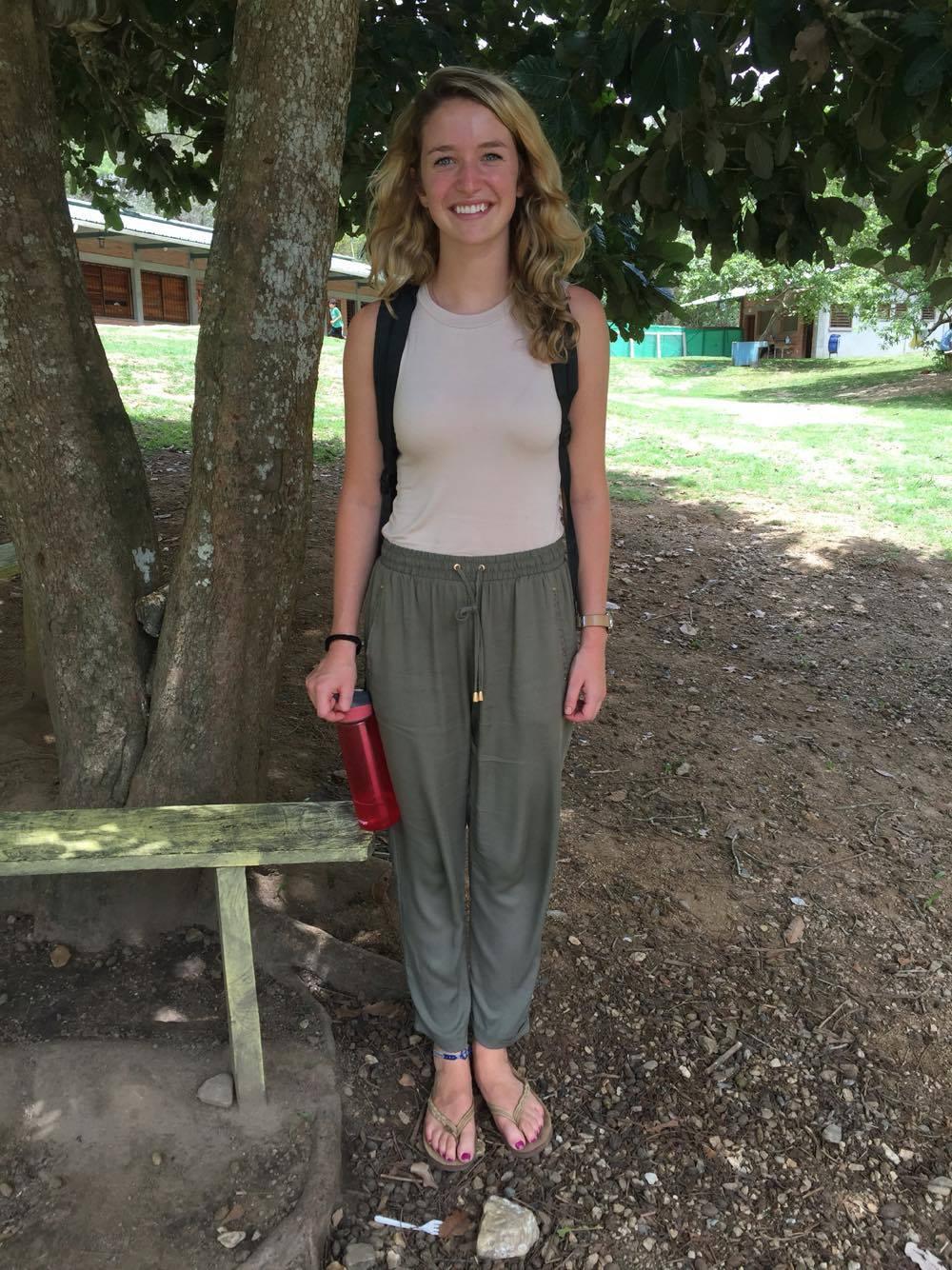 Amy Atwell, 20    Hometown:  Westchester, PA  University:  University of South Carolina Junior studying global development  Escuelita role:  1st grade teacher