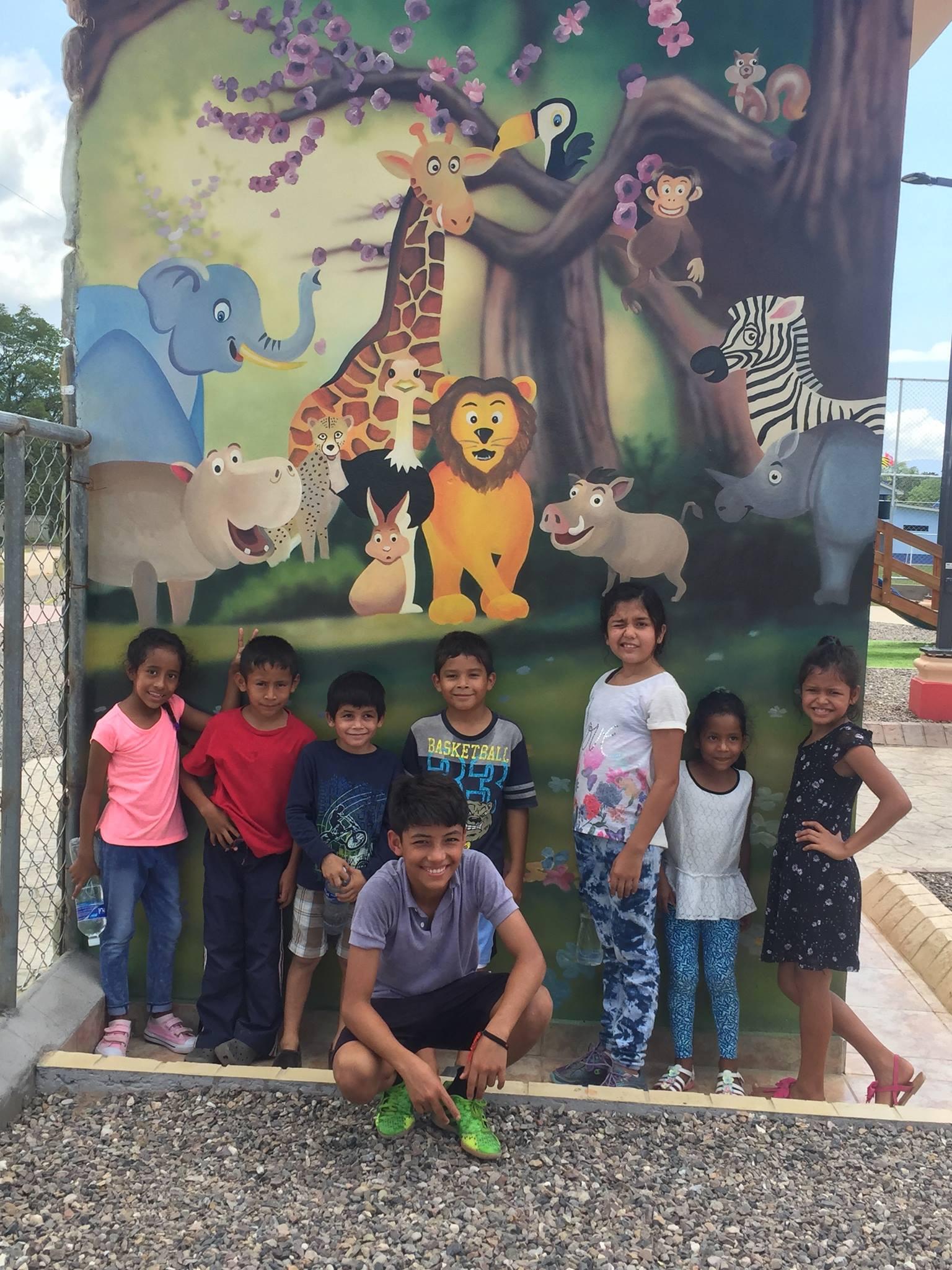 Natasha and friends at a park during October vacations.