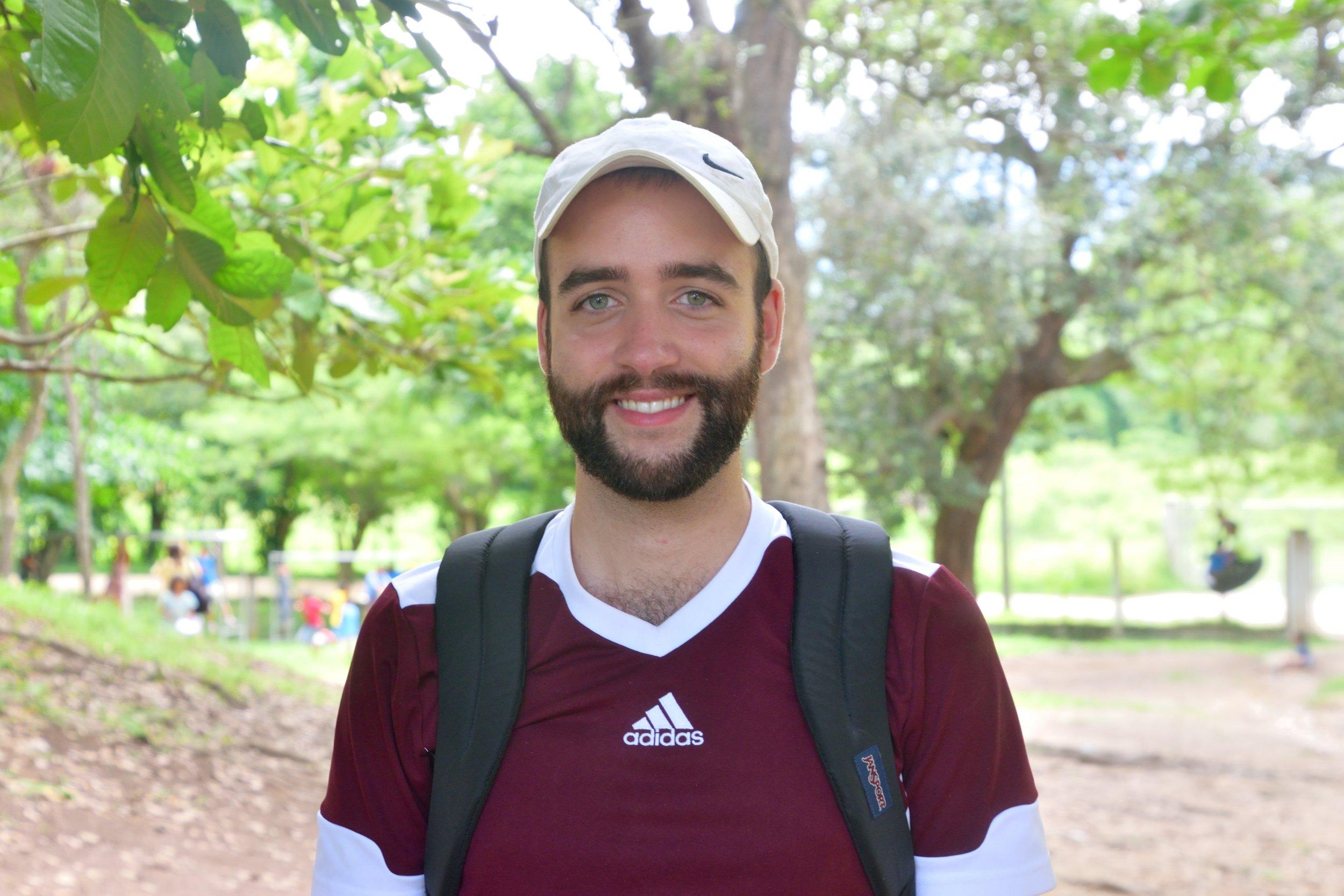 Andrew Erway, 25  Hometown:  Lebanon, PA  Current Profession:  Spanish Teacher  Role in Escuelita:  Art Instructor