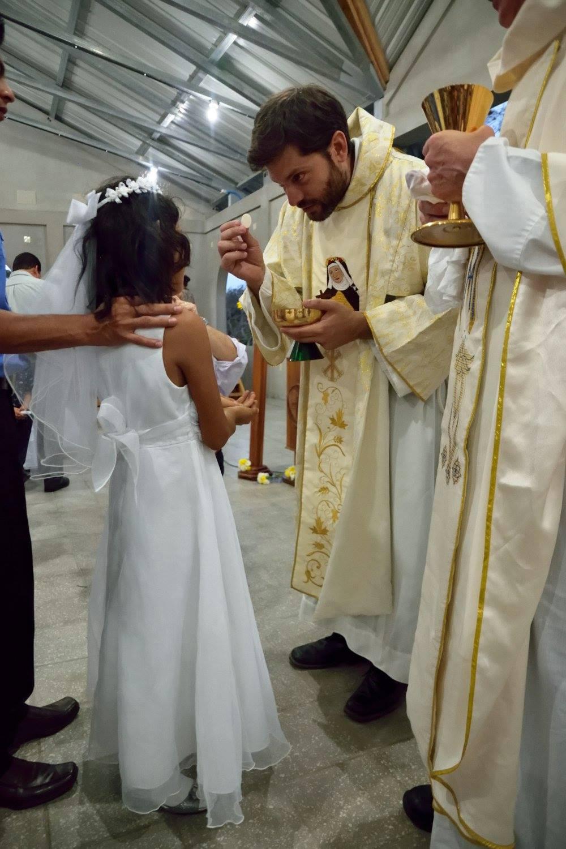 Felipa's First Communion, April 2017