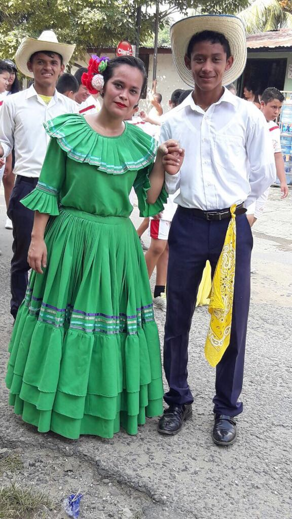 Santino dressed up for this year's Honduran Independence Day Parada, which took place this past month.
