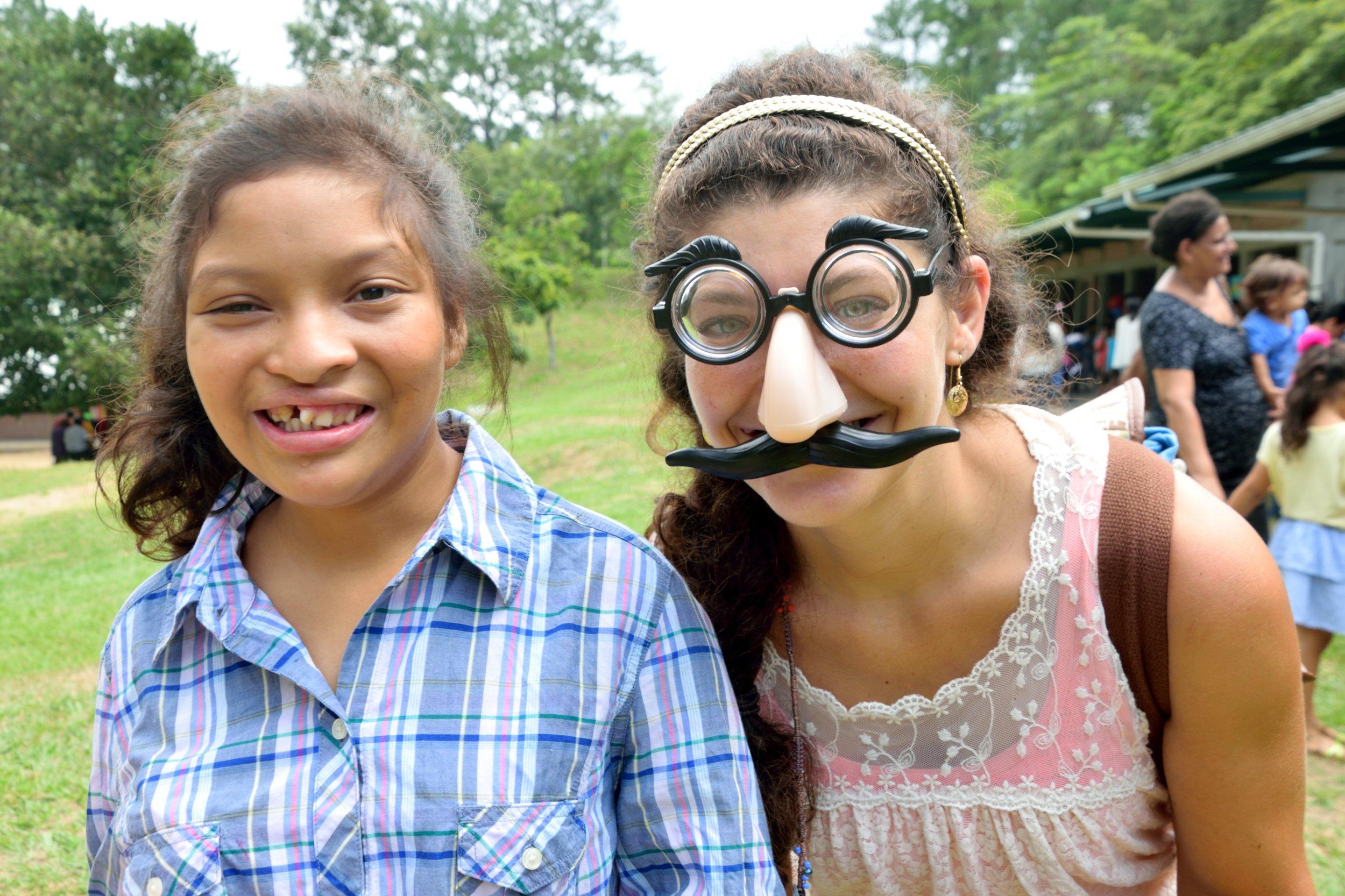 Dressed up celebrating Día del Niño (Children's Day) this past September.