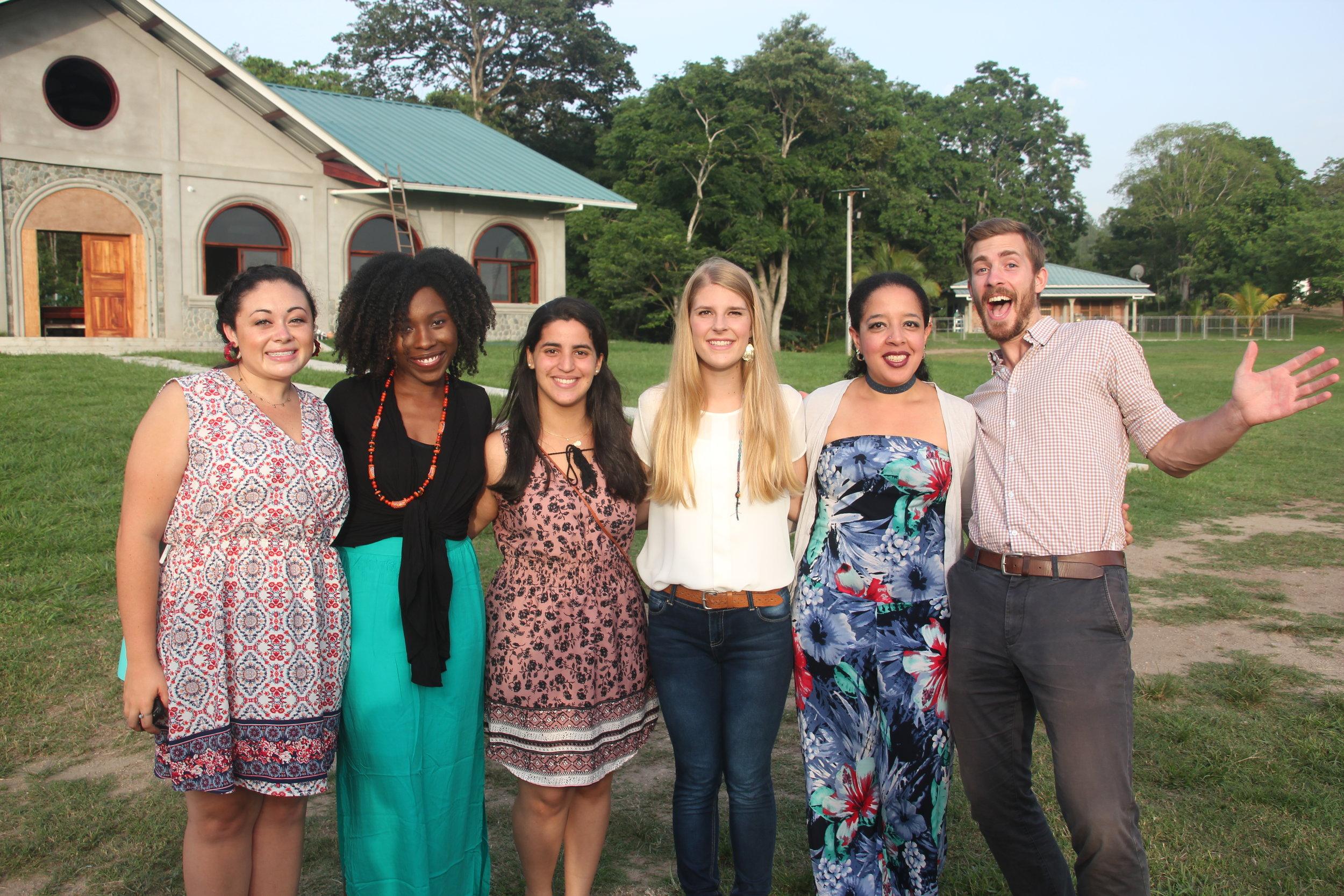 The BECA Community at the Amigos Festival de Canción, August 2018