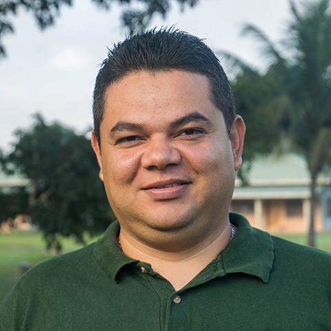 Alex Humberto Gonzales, Maintenance and Physical Plant Coordinator