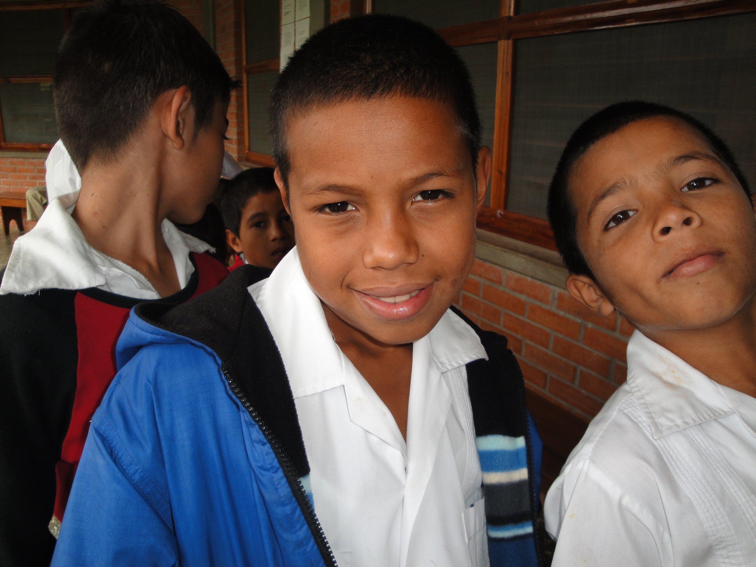 Conrad 8 years ago getting ready to head off to school.