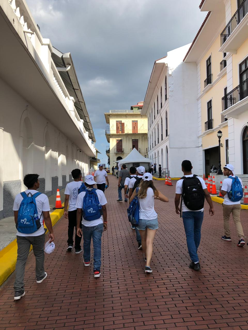 The group enjoyed having time to not only experience World Youth Day but also to explore Panama City.