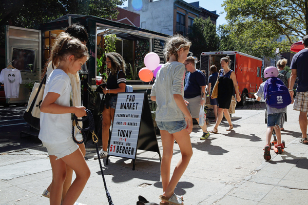 FAD Market Summer Pop-up Craft Fair Boerum Hill Brooklyn NYC