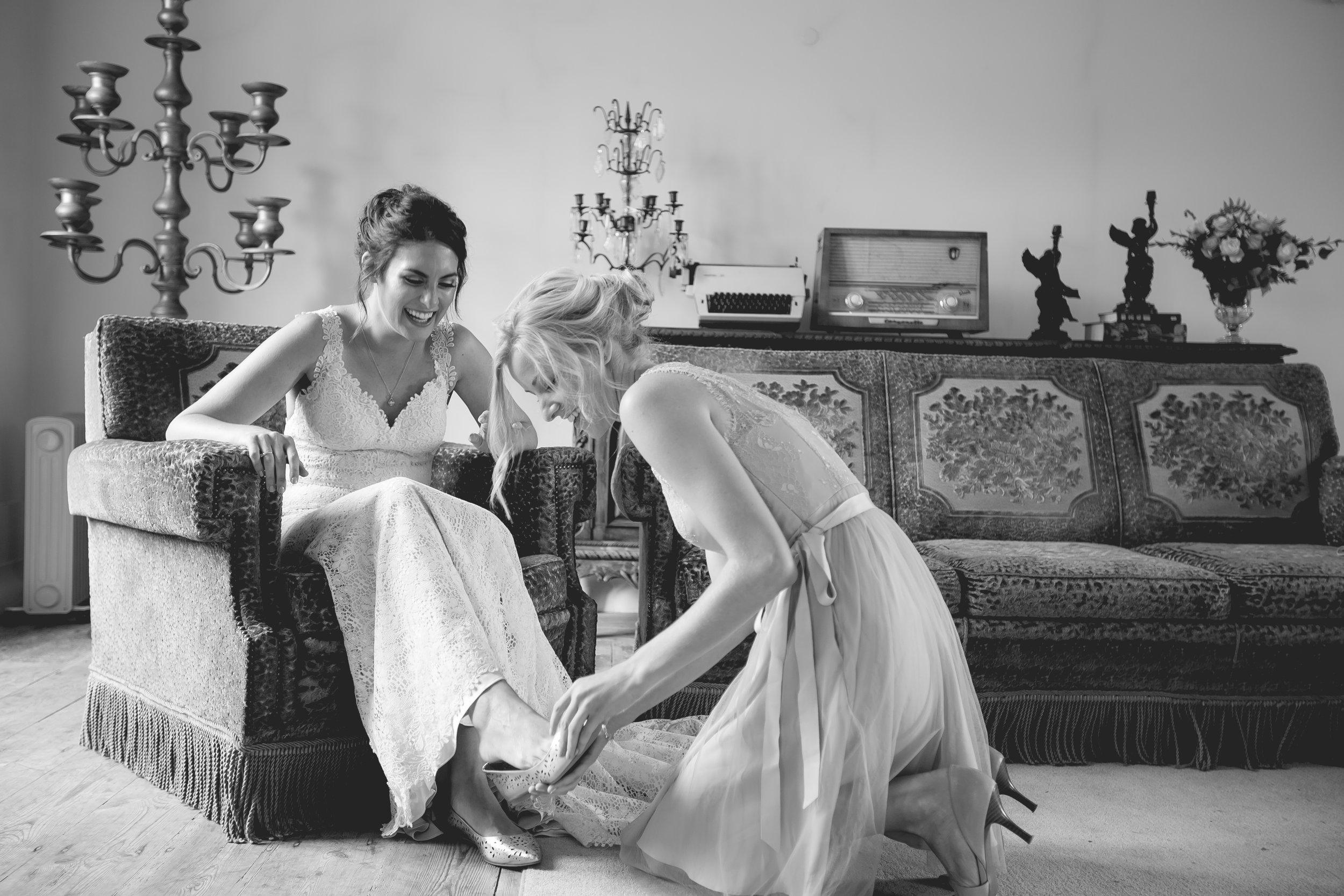 Monserrate Palace Portugal Destination Wedding BHLDN Dresses