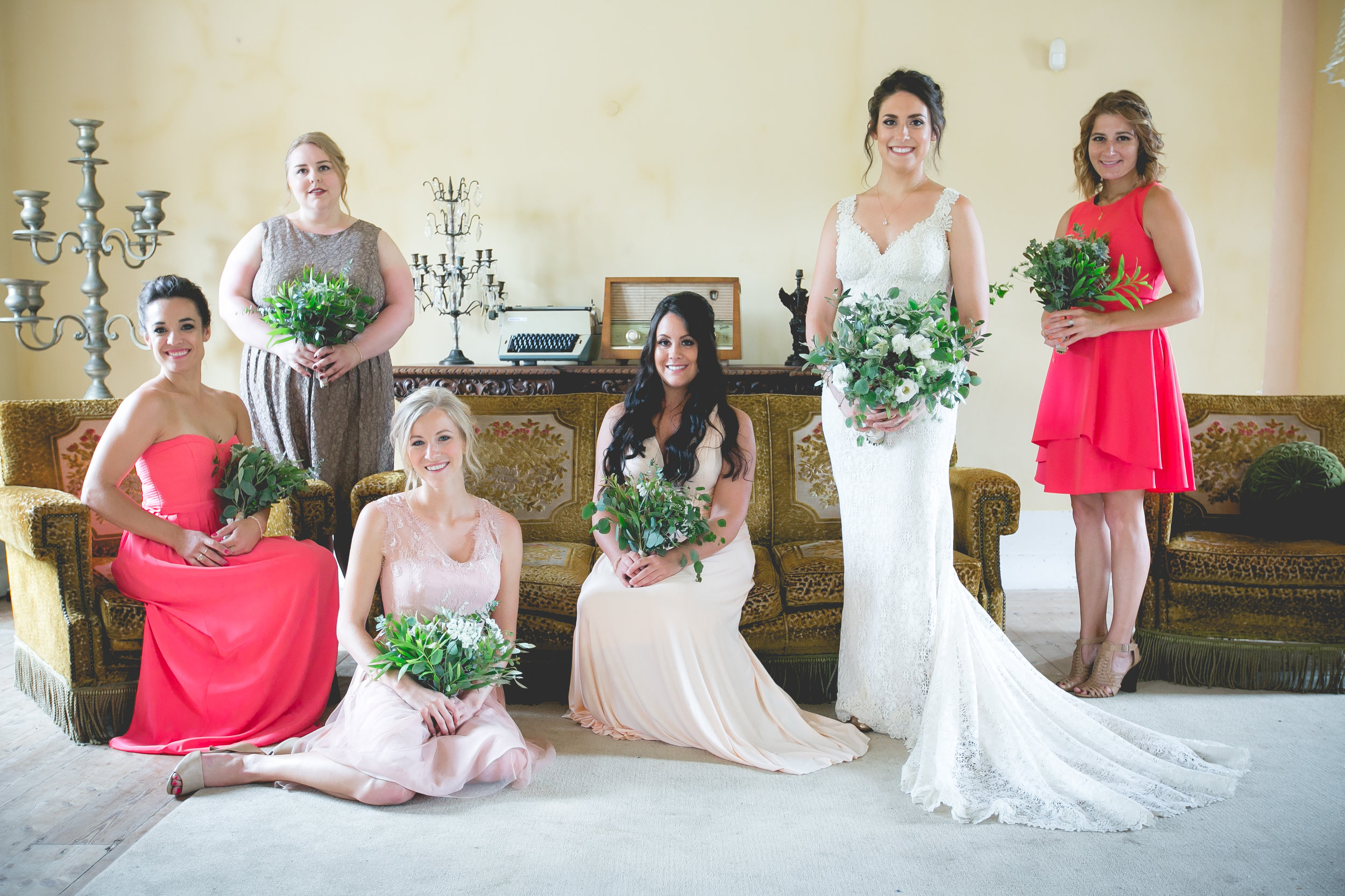 Monserrate Palace Portugal Destination Wedding Bridesmaids Vanity Fair