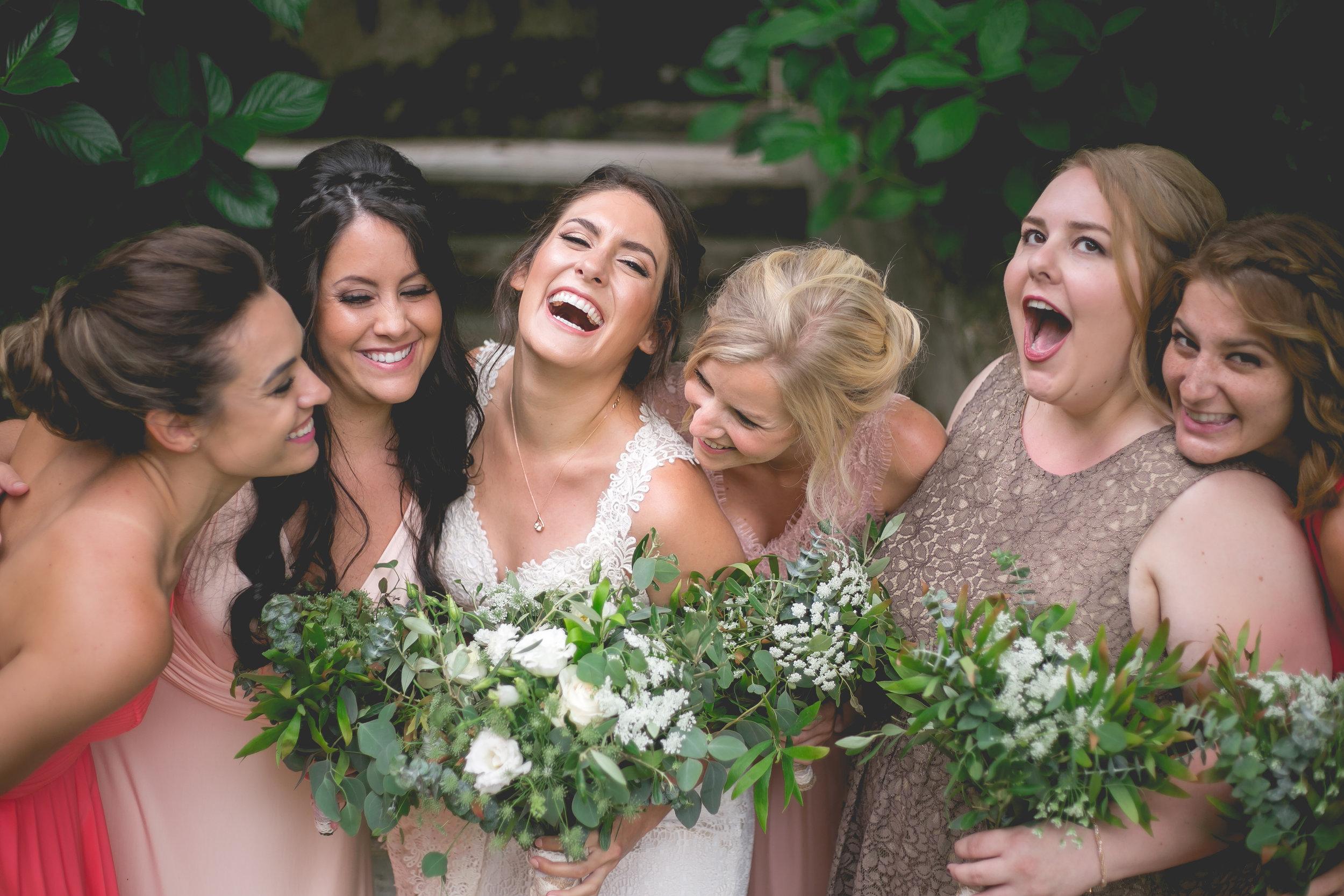 Monserrate Palace Portugal Destination Wedding Bridesmaids