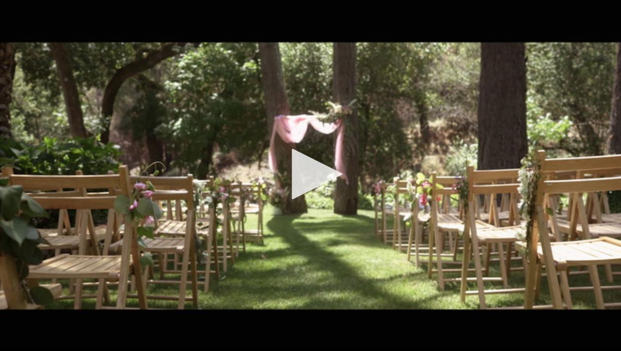 Pythian House Wedding Video Romantic Foresty Woodsy Elegant Rustic Michael Jillian