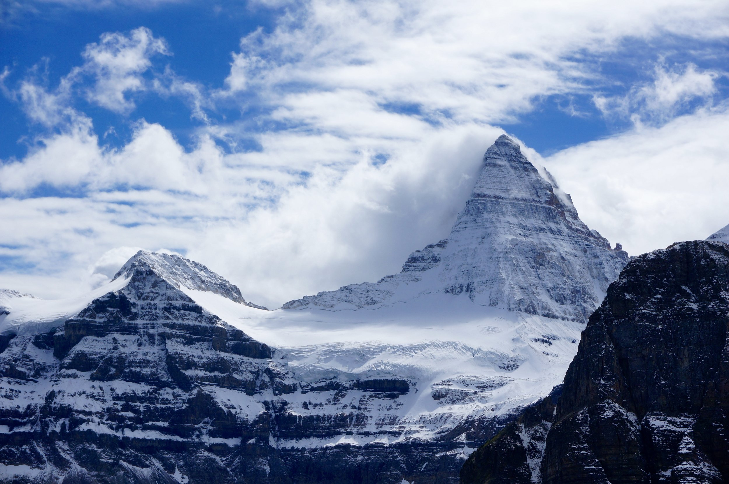 Backpacking To Mount Assiniboine Maura Brady