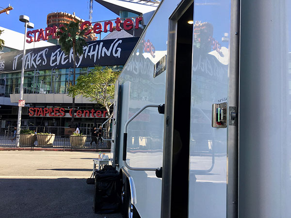 Portable-Restroom-Trailers-Downtown-Los-Angeles-Staples-Center