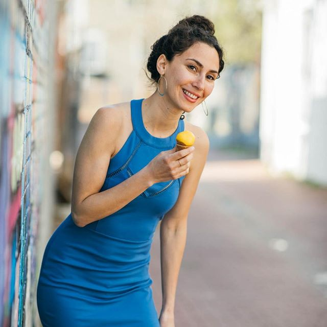 #Throwback to this super cute dress! It's giving us major #BroadCity vibes 😍 (Remember Abbi's perfect blue dress???) What's your go-to going out piece?⠀ ⠀ #instadc #igdc #dcfashion #dcfashionblogger #fashiondc #igersdc #upshurstreet #petworthdc #navyyarddc #theyards #yardsparkdc #capitolriverfront #dcshopping #dcstyle #acreativedc #mydccool #shoplocal #shopsmalldc #colormixing #ootd