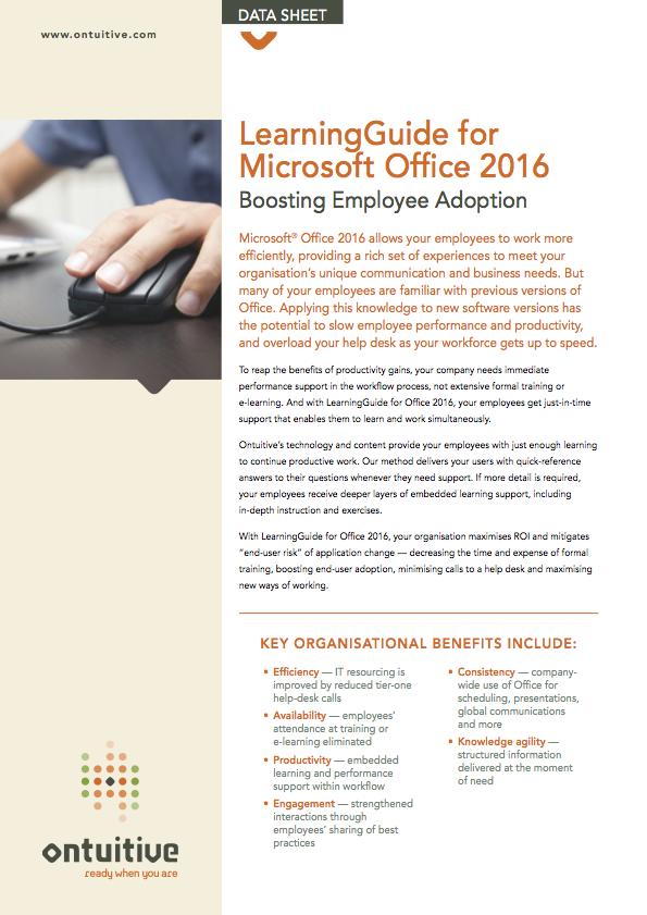 Office 2016, 2013, 365 & Windows