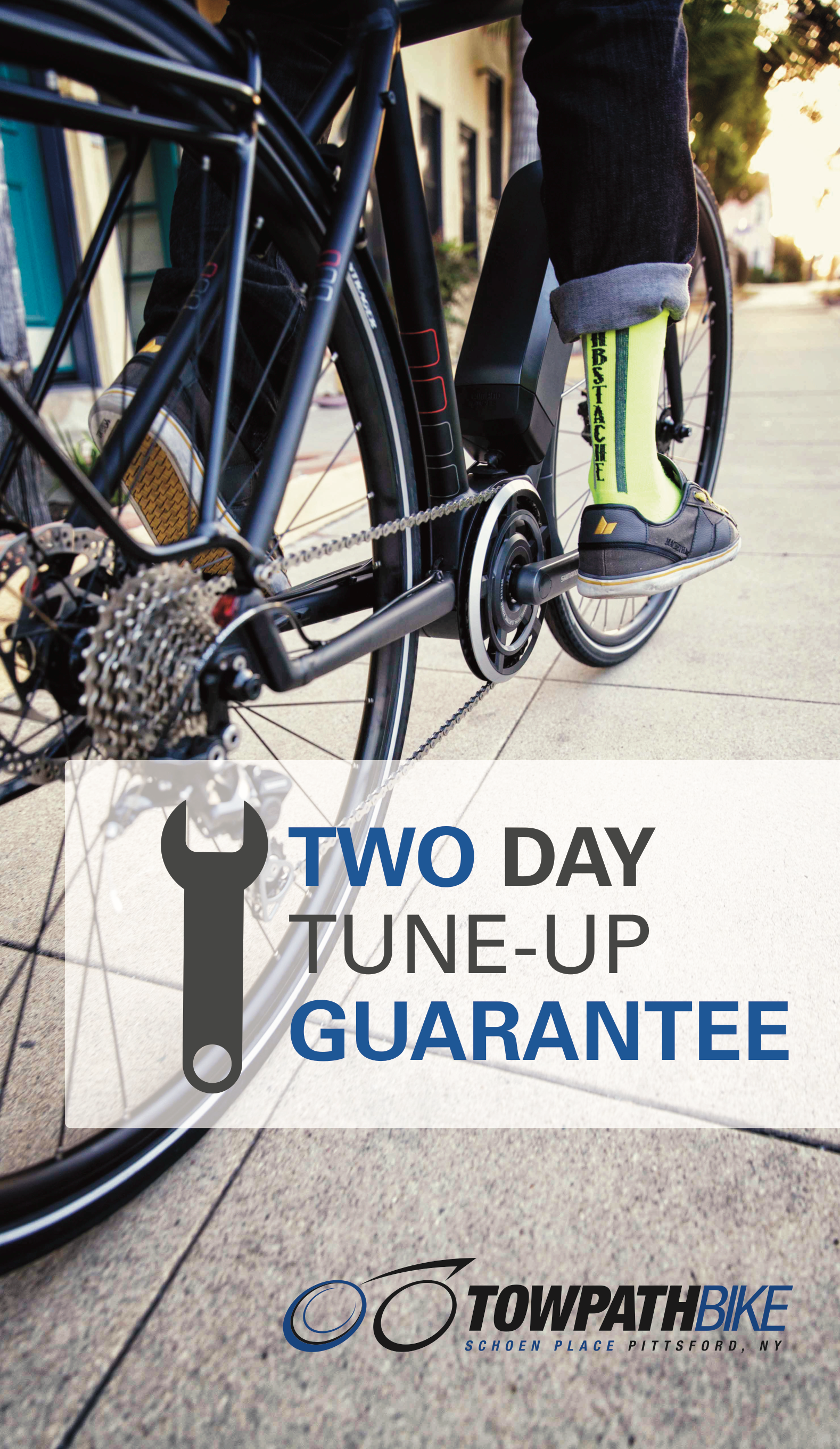 Towpath Bike Shop Tune-Up Poster