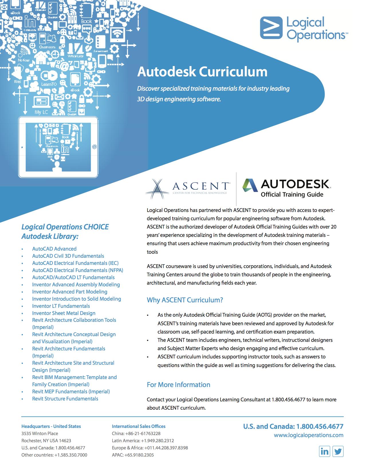 Autodesk Curriculum