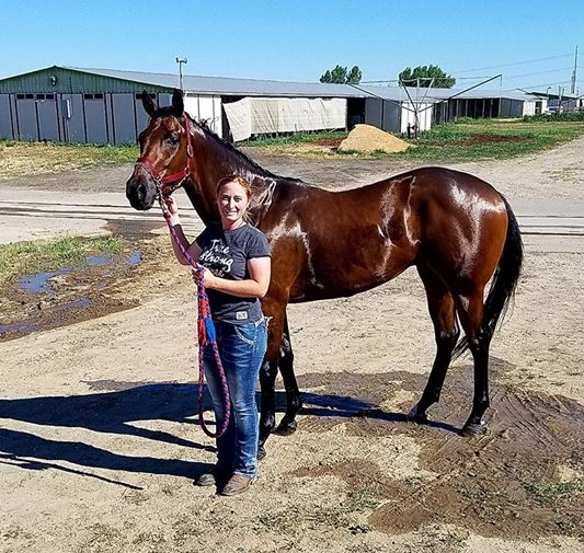 Our winning two year old