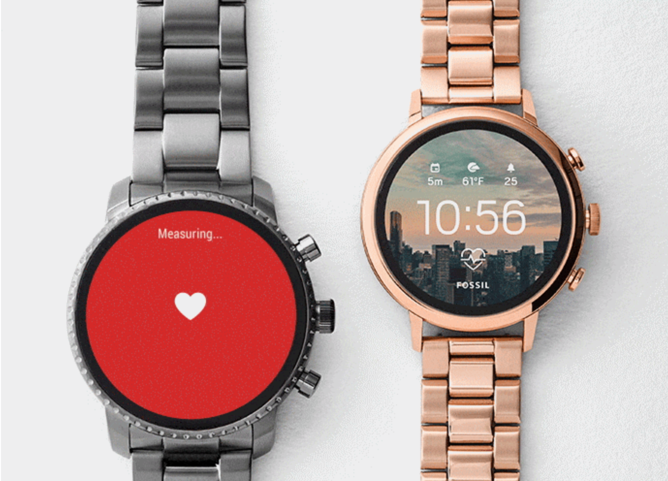 Fossil watch and Pixel