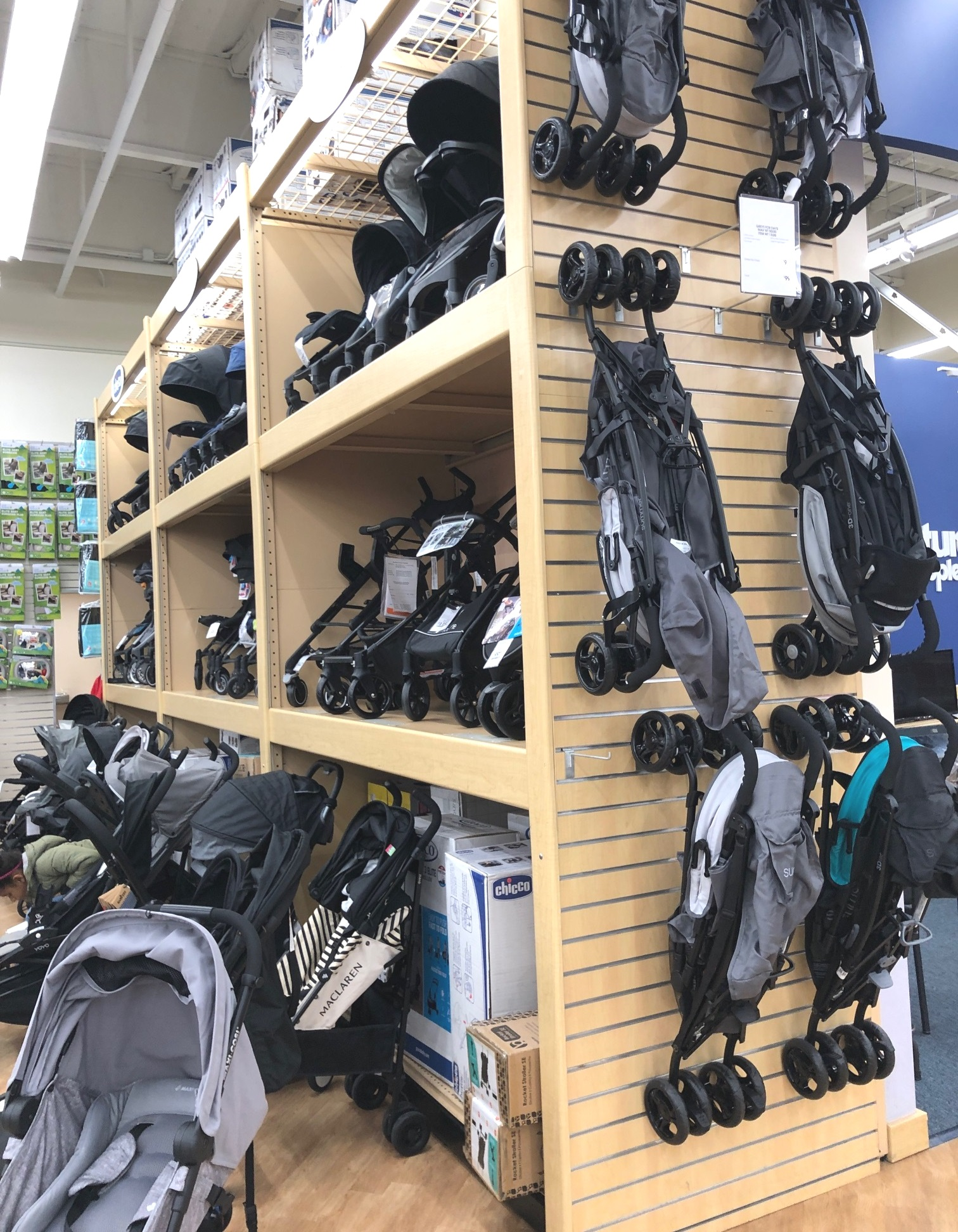 "Looking at the thousands of carseats and strollers I was thinking, ""how in the world am I supposed to know which one is the best/will work best for our baby?"" Thank goodness these ladies were there to help."