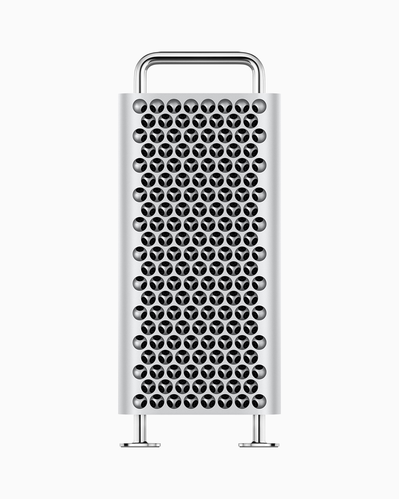All-new Mac Pro… doesn't it look like a cheese grater?