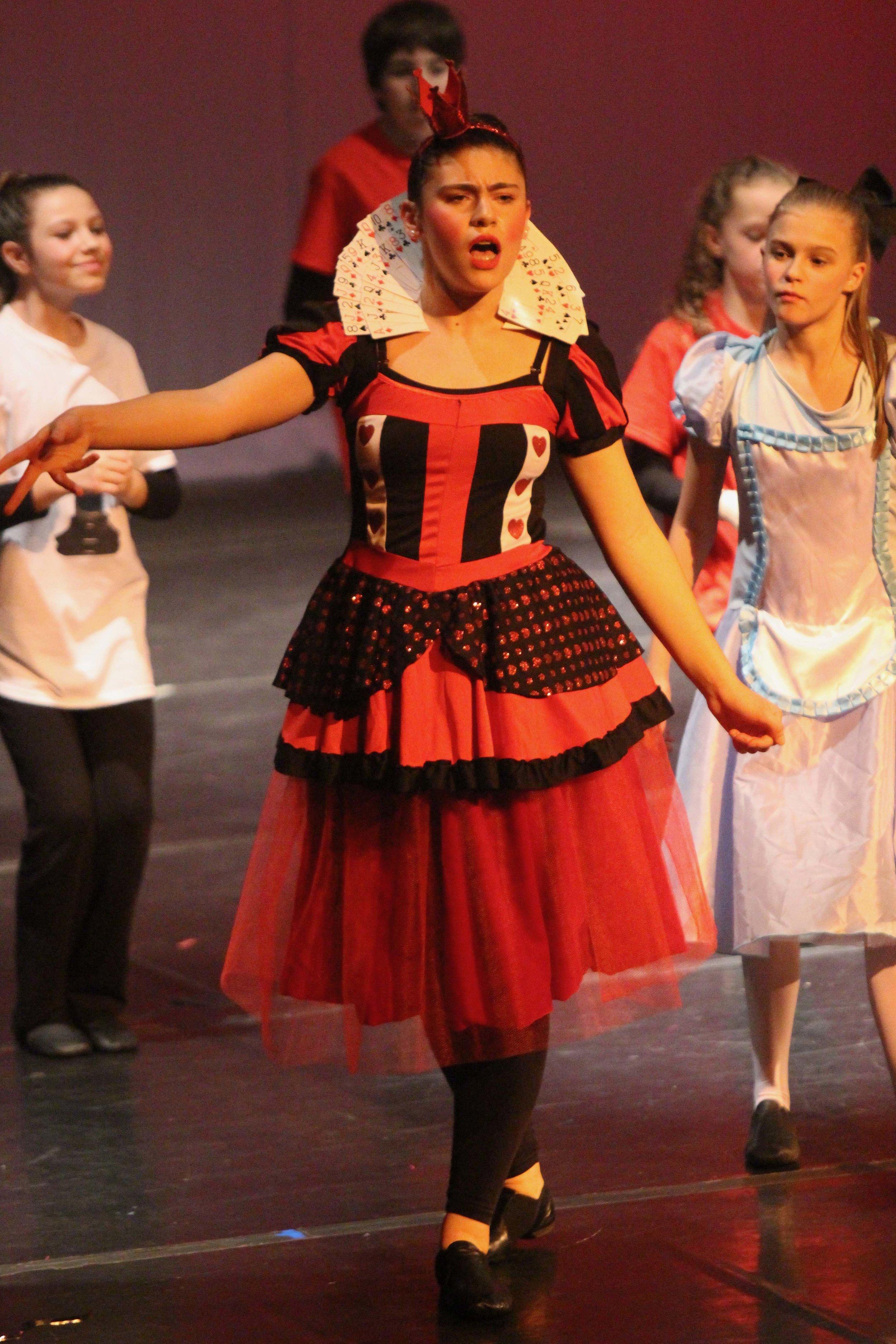 Queen of Hearts, Wonderland